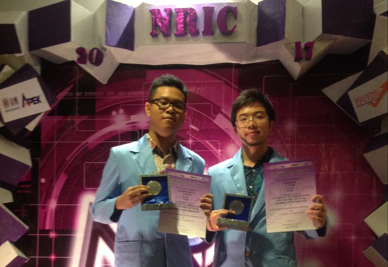 Silver Medals Teknik Sipil di Novel Research and Innovation Competition 2017